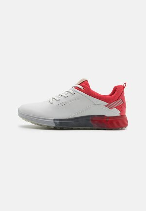 THREE - Golf shoes - white/hibiscus