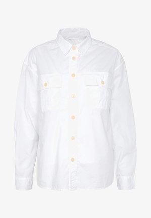 CAMP SHIRT - Chemisier - optic white
