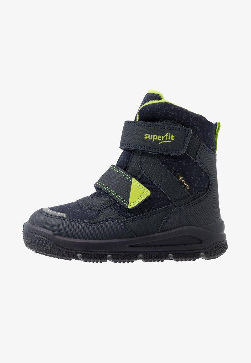 Superfit - MARS - Winter boots - blau/grün