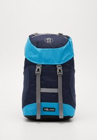 TrollKids - KIDS FJELL PACK 20L - Mochila - navy/light blue - 0