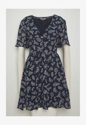 TJW WAIST DETAIL FLUID DRESS - Denní šaty - dark blue