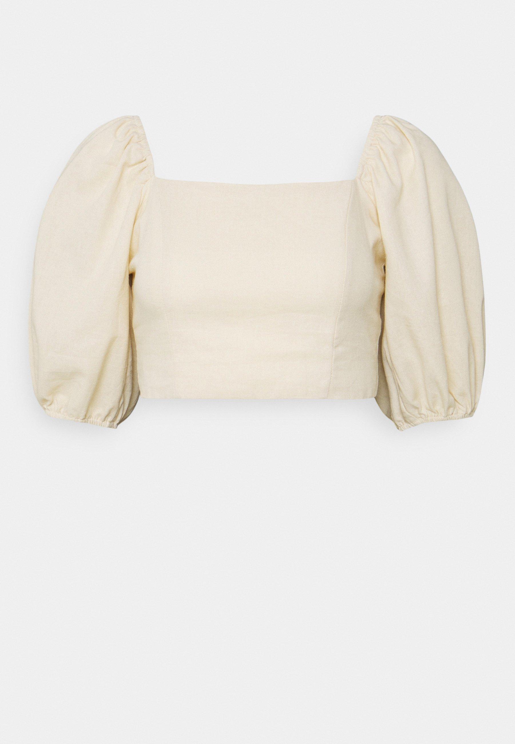 Donna TIE BACK CROP - T-shirt con stampa