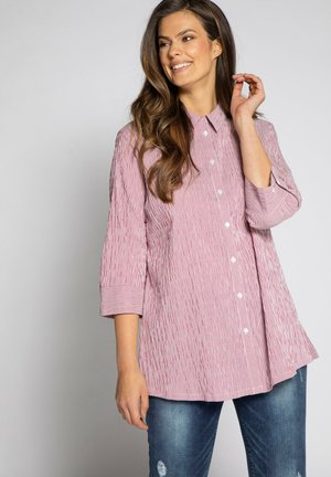 Button-down blouse - magnolienrot