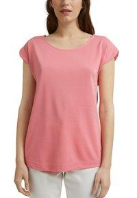 Esprit - FASHION - Basic T-shirt - coral - 6