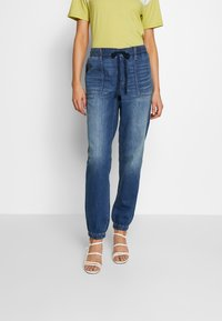 American Eagle - JOGGER - Relaxed fit jeans - rustic blue - 0