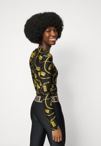 Versace Jeans Couture - Long sleeved top - black - 4