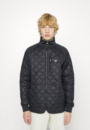 Quilt - Lehká bunda - black