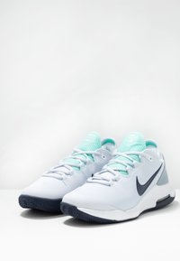 Nike Performance - AIR MAX WILDCARD CLAY - Clay court tennis shoes - football grey/midnight navy - 2