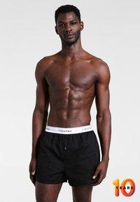Calvin Klein Underwear - MODERN BOXER SLIM 2 PACK - Boxer shorts - black - 1
