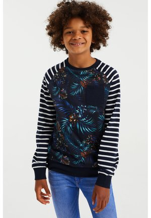 Long sleeved top - multi coloured