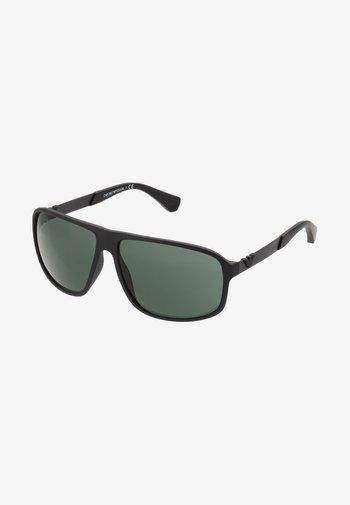 Solbriller - matte black/green