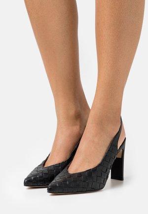 Classic heels - vacuno black