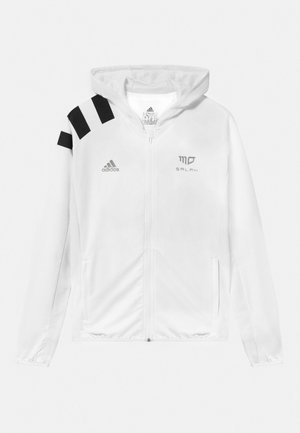 UNISEX - Training jacket - white/black/gold