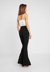 Missguided - TROUSER FLARE - Trousers - black - 3