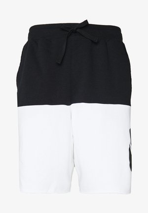ALUMNI - Shorts - black/white