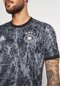 adidas Performance - DFB Deutschland PRESHI - Oblečení národního týmu - black/grey three - 4