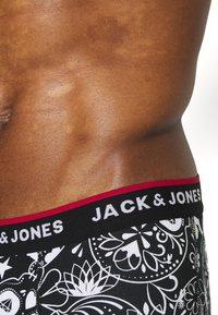 Jack & Jones - JACPRINTED TRUNKS 5 PACK - Pants - black/navy blazer - 4