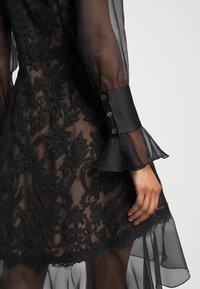 Marchesa - DAMASK DRESS - Koktejlové šaty/ šaty na párty - black - 6
