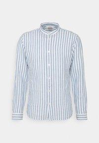 Springfield - MAO STRIPE - Shirt - medium blue - 4