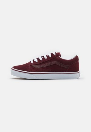 OLD SKOOL UNISEX - Sneakers laag - chocolate truffle/asphalt
