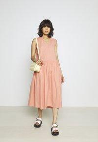 YAS - YASTERRA DRESS - Vestido informal - terra cotta - 1