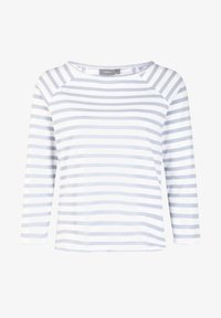 SHAN - Long sleeved top - sky blue combi
