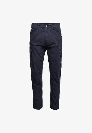 DRONER RELAXED TAPERED CARGO - Cargo trousers - mazarine blue gd