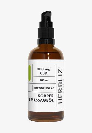 HERBLIZ BERLIN CBD MASSAGE OIL LEMONGRASS - Body oil - -