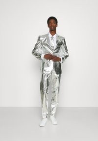 OppoSuits - SHINY SET - Suit - silver - 1