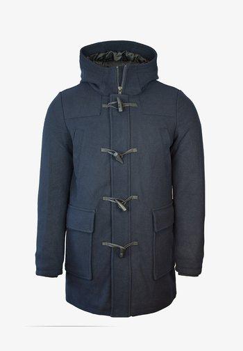 WOOL DUFFLE COAT - Classic coat - dark navy
