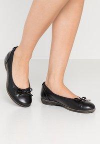 Jana - Ballet pumps - black - 0