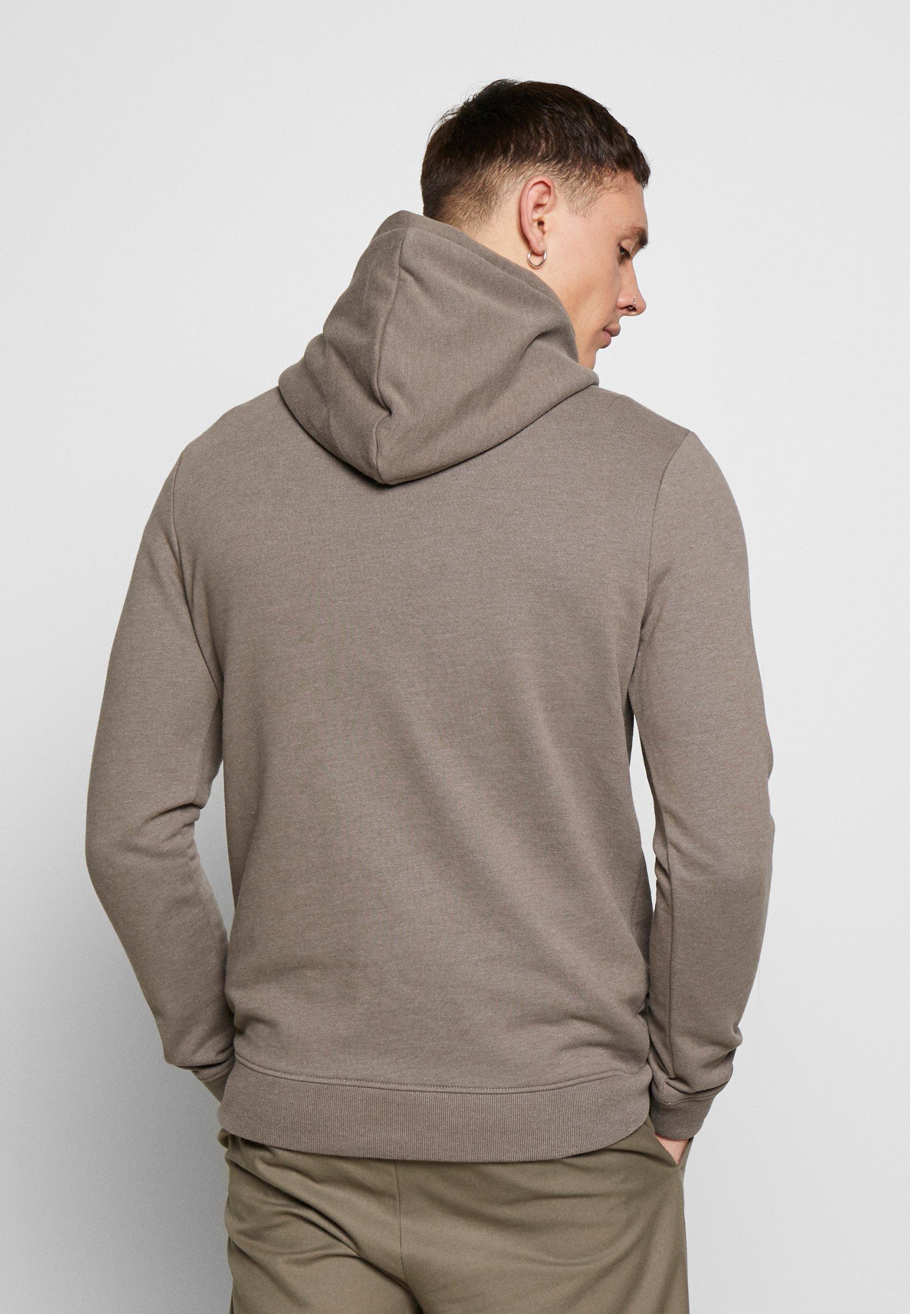AllSaints RAVEN HOODY - Sweat à capuche - tile grey marl