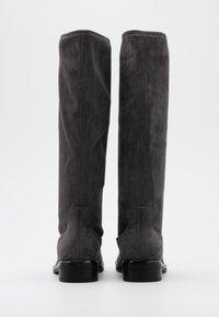 Caprice - BOOTS - Vysoká obuv - dark grey - 3