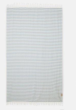 BEACHPLAID STRIPES - Accessorio da spiaggia - ecru/bleu clair