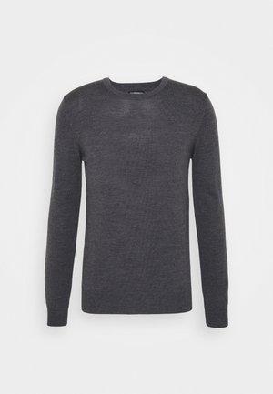 LYLE CREW NECK - Pullover - dark grey melange