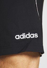adidas Performance - MIX SHORT - Sportovní kraťasy - black/white - 5