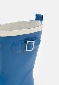 Cotton On - FASHION GOLLY UNISEX - Regenlaarzen - retro blue/ecru - 5