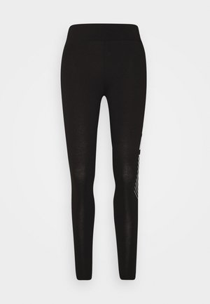 GRAPHIC LEGGINGS - Leggings - black