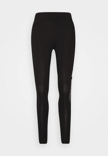 GRAPHIC LEGGINGS - Legging - black