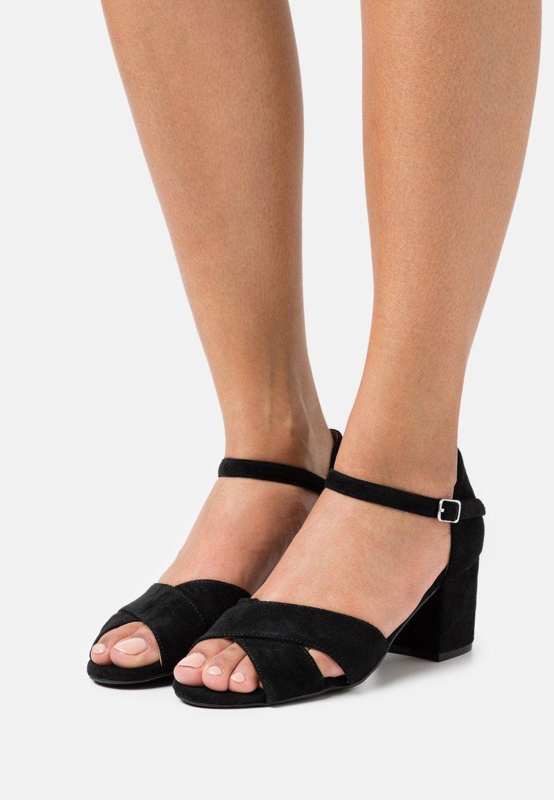 Bianco - BIACATE  - Sandals - black