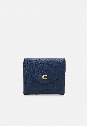 CROSSGRAIN SMALL WALLET - Wallet - deep blue