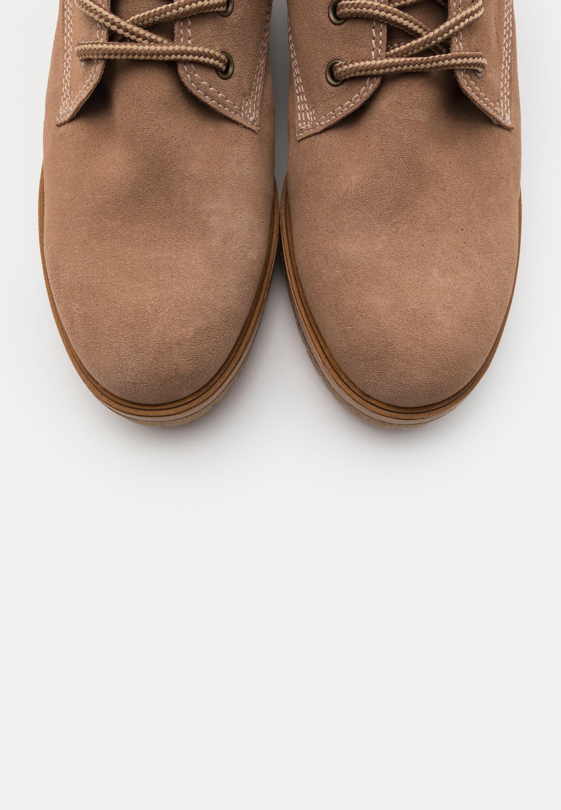 Gabor Snørestøvletter - Desert/gråbrun