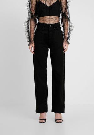 DUA LIPA X PEPE JEANS - Jeans a sigaretta - black
