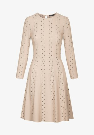 Jumper dress - desert beige