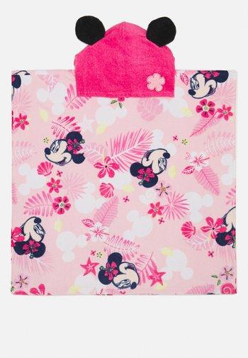 BABY GIRL PONCHOMINNIE - Ručník - hot pink