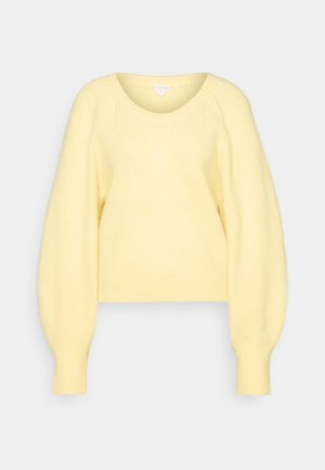 SWEATER - Jumper - soft yellow