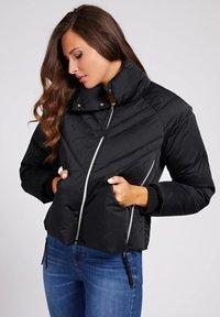Guess - WATTIERTE JACQUARD A$AP ROCKY - Winter jacket - schwarz - 0