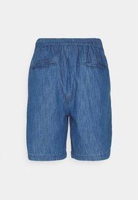 Cream - ENCELLA - Denim shorts - blue denim - 1
