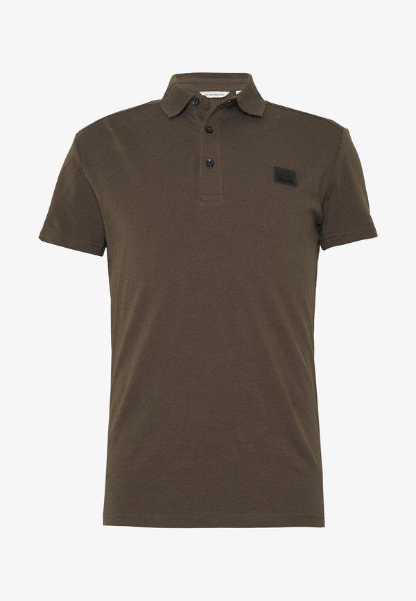 Antony Morato SPORT PLAQUETTE - Koszulka polo - khaki Odzież Męska YATV