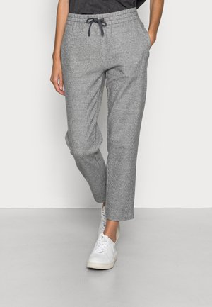 JERSEY TRACKPANTS - Tracksuit bottoms - linen white